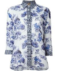 Fay floral print shirt medium 534301