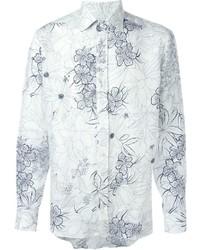 Floral print shirt medium 572862