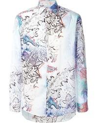 Floral print shirt medium 572866