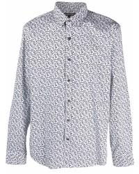 Michael Kors Michl Kors Floral Button Down Shirt