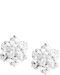 Fragments for Neiman Marcus Fragts Floral Cz Crystal Stud Earrings