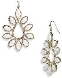 Kendra Scott Nyla Large Teardrop Floral Earrings