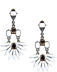 Boohoo Poppy Floral Drop Statet Earrings