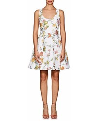 Prabal Gurung Floral Jacquard Cocktail Dress