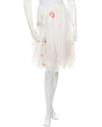 Prada Embellished Circle Skirt