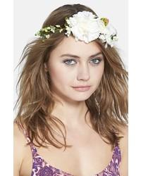 Cara Floral Crown Head Wrap