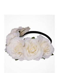 Express Large Flower Crown Ivory Neutral