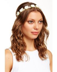Noir Flower Lace Headband