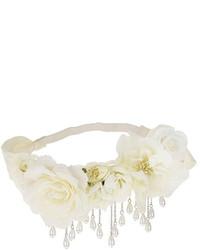 Topshop Pearl Flower Garland