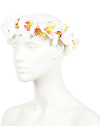 River Island Pink Vintage Flower Hair Garland
