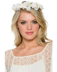 Rose Wire Flower Crown