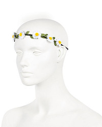 River Island White Daisy Flower Hair Garland
