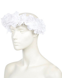 River Island White Flower Hair Garland