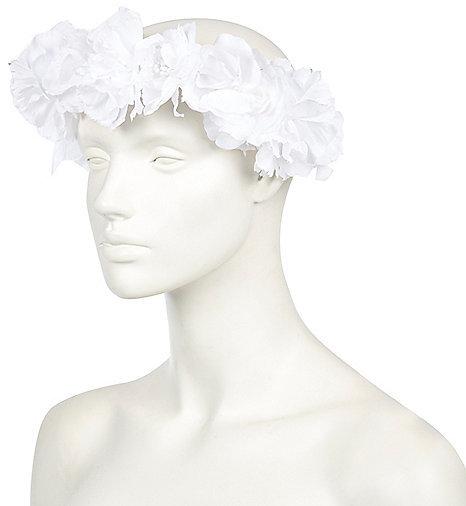 River Island White Flower Hair Garland