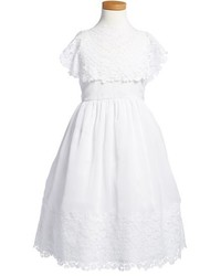 Isabel Garreton Floral Lace Dress