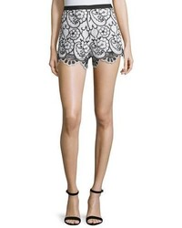 Pia floral lace shorts blue medium 3680212