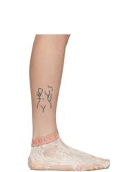Gucci White Lace Socks