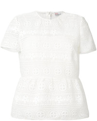 RED Valentino Floral Lace T Shirt