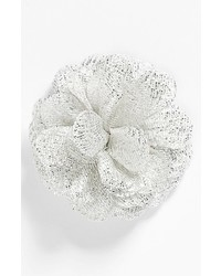 hook + ALBERT Organza Lapel Flower Shooting Star