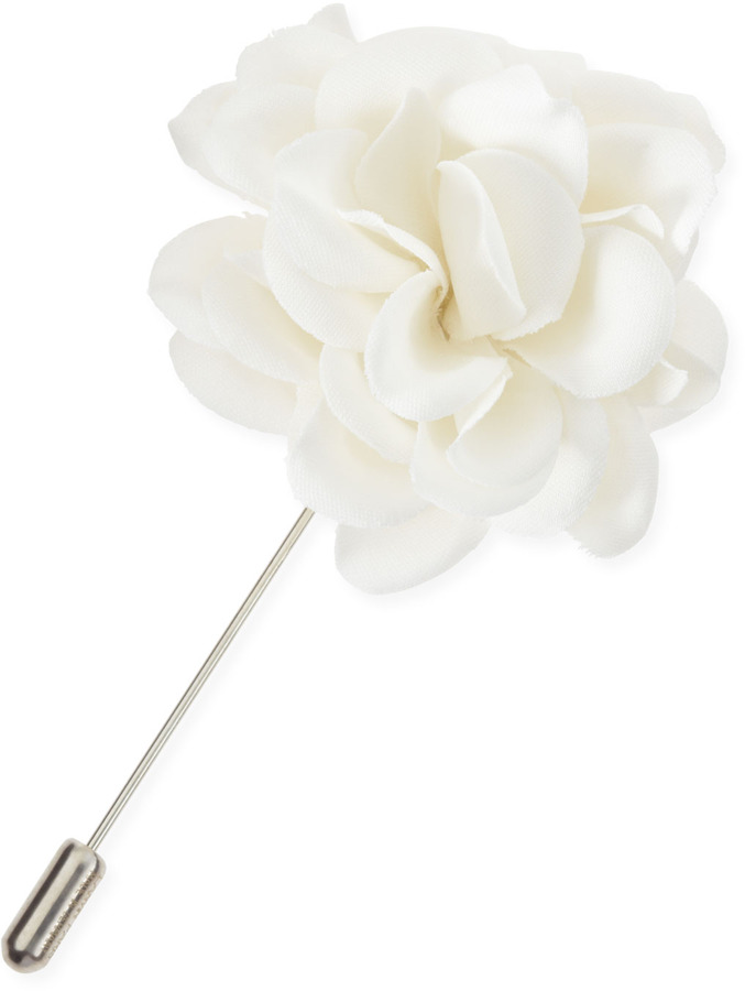 Lanvin rose lapel pin white where to buy how to wear lanvin rose lapel pin white mightylinksfo