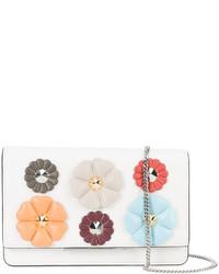 Fendi Floral Patch Crossbody Bag