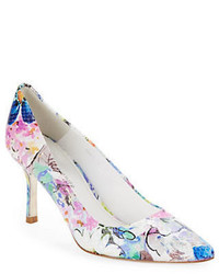 Donald J Pliner Donald J Pliner Treva Floral Leather Pumps