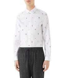 Gucci Iconic Elets Fil Coupe Sport Shirt