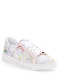 Ted Baker London Eyewo Floral Lace Up Sneakers