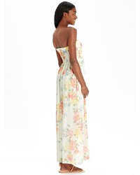 8254a84942e0 ... Old Navy Floral Chiffon Maxi Tube Dresses