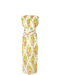 Zimmermann Pleated Floral Maxi Dress