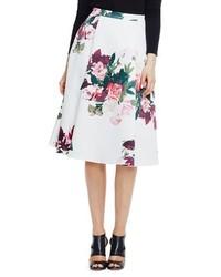 Floral midi skirt medium 363128