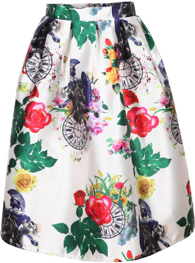 Skirt floral — 7