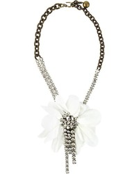 Lanvin Floral Necklace