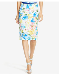 Polo Ralph Lauren Floral Print Pencil Skirt