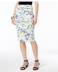 Thalia Sodi Printed Scuba Pencil Skirt Created For Macys