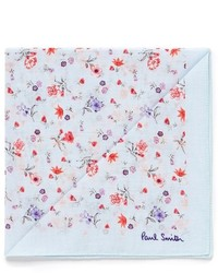 Paul Smith Gentlemans Floral Cotton Pocket Square