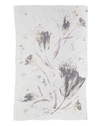 Max Mara Abadan Print Silk Wrap