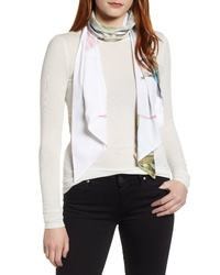 Ted Baker London Wonderland Floral Skinny Scarf