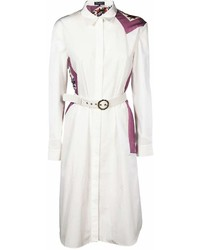 Salvatore Ferragamo Belted Shirt Dress