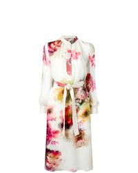 Lanvin Floral Shirt Dress