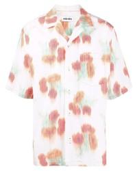 Kenzo Abstract Print Short Sleeve Shirt