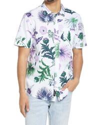 Vans Califas Floral Short Sleeve Button Up Shirt