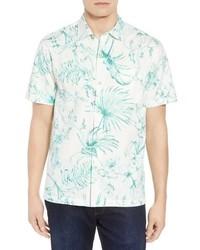 Tommy Bahama El Botanico Regular Fit Cotton Silk Sport Shirt