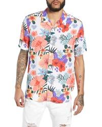 Topman Hawaiian Print Shirt