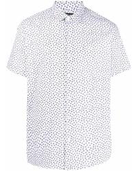 Michael Kors Michl Kors Daisy Print Cotton Shirt
