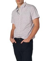 Rodd & Gunn Mount Cargill Sports Fit Floral Short Sleeve Button Up Shirt