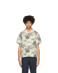 Kenzo Off White Sea Lily Shirt