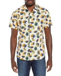Bonobos Premium Slim Fit Floral Print Sport Shirt