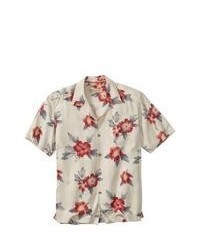 Tommy Bahama Big Tall Palace Floral Camp Shirt Shirt