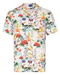 Orlebar Brown Travis Botanical Print Shirt